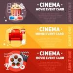 Realistic cinema movie poster — Stock Vector #75876343