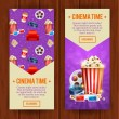 Realistic cinema movie poster template — Stock Vector #78920340