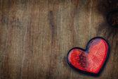Valentine grungy heart — Stock Photo