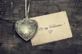 Vintage Valentine background — Stock Photo
