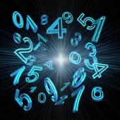 Numerology — Stock Photo