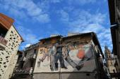 Mural in Haro Spain — Stock Photo