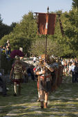 Legionary march — Stock Photo