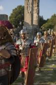 Legionary parade — Stock Photo