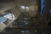 Interior of Guggenheim museum in Bilbao — Stockfoto