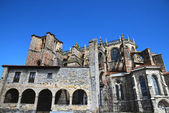 St Mary of the Assumption in castro Urdiales — 图库照片