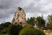 Monument to shepherd in Pancorbo — Stock Photo