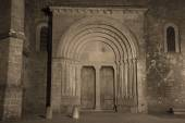 Carcassonne basilica — Foto de Stock