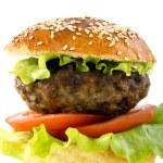 Homemade hamburger. — Stock Photo #65543039