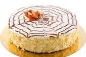 Esterhazy cake. — Stock Photo