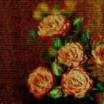 Романтический фон с розами — Стоковое фото #65717769