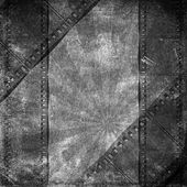 Black and white background with film flame  — Stock Photo