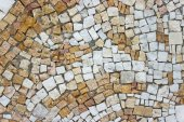 Marble stone mosaic texture as background — Stock Photo