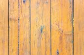 Old yellow wooden background — Stock Photo