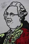 Hollande Graffiti — Stock Photo