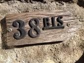 Number 38 bis — Stock Photo