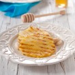 Постер, плакат: Pineapples with honey and almond