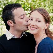 Close-up of happy couple — Stock Photo