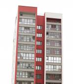 Apartment block building — Stockfoto