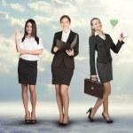 Image of three successful businesswomen — Stock Photo #71618577