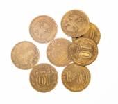 堆硬币 — 图库照片