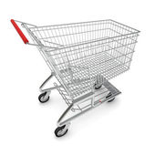 Picture of shopping cart for purchase — Stock Photo