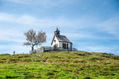 Small chapel in the alps — Stock Photo
