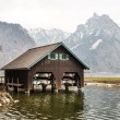 Boathouse at lake Traunsee — Stock Photo #69106009