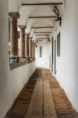 Corridor of Castle Orth in Austria — Stock Photo