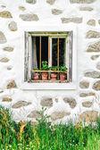 Detail of a farmhouse in upper austria — Stock Photo