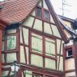 Single half timbered house in alsace — Stock Photo #70082557