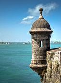 The old fort in San Juan named Castillo San Felipe del Morro, Puerto Rico — Stockfoto