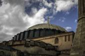 Aya Sofia on a cloudy day — Stock Photo