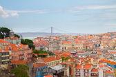 Skyline of  Lisbon, Portugal — Stock Photo