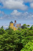 Palacio Pena, Sintra, Portugal — Stock Photo