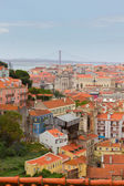 Skyline of  Lisbon, Portugal — Stock Photo