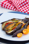 Baked eggplant — Stock Photo