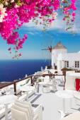 Windmill of Oia, Santorini — Stock Photo