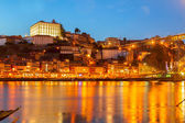 Night scene of Porto, Portugal — Stock Photo