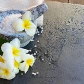 Spa and wellness setting — Stock Photo