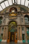Antwerp Central Railway Station — Stockfoto