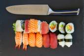 Lunch with  sushi dish — Foto de Stock