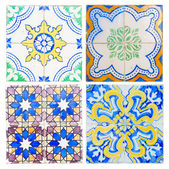 Antique tiles of Sintra — Stock Photo