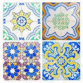 Antique tiles of Sintra — Stok fotoğraf