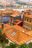 Colorful houses in old town, Porto — Stockfoto