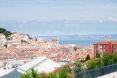 Skyline lizbon, portekiz — Stok fotoğraf