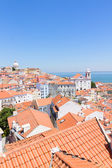 View of Alfama, Lisbon, Portugal — Stock Photo
