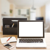 Modern working place — Stock Photo