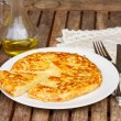Tortilla  - spanish omelette — Stock Photo #59159369