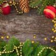 Christmas frame — Stock Photo #59269741